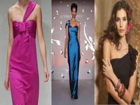 Hot Trends 2013: Day 2 – One Shoulder Bridesmaids Dresses