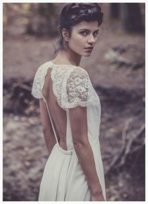 Parisian Wedding Style: Laure De Sagazan BridalCollection