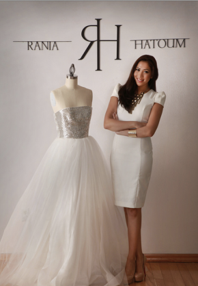 Style to the Aisle…a Bride's RUNWAY-DC Featured Designer: Rania Hatoum